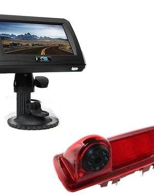 RVS-systemen Renault Trafic (2014-heden) Remlichtcamera 4.3 inch Monitor RVM-420