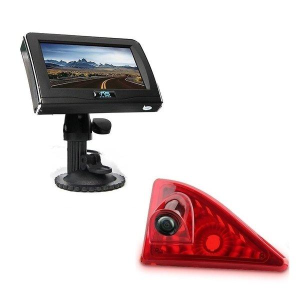 RVS-systemen Renault Master (2010-heden) Remlichtcamera 4.3 inch Monitor RVM-420