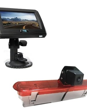 RVS-systemen Opel Combo (2011–2017) Remlichtcamera 4.3 inch Monitor RVM-420