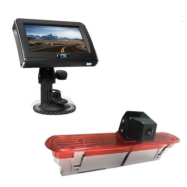 RVS-systemen Opel Combo (2011–2017)) Remlichtcamera 4.3 inch Monitor RVM-420