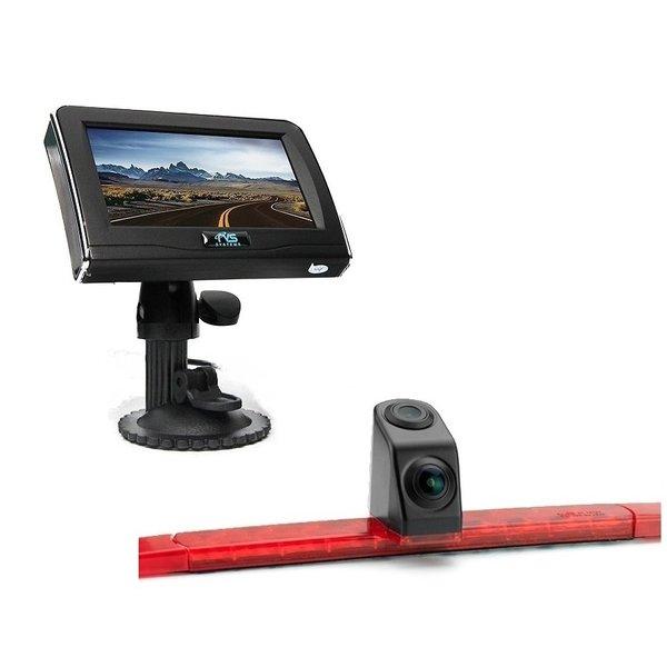 RVS-systemen Hella Dubbele Achteruitrijcamera Remlichtcamera 4.3 inch Monitor RVM-420