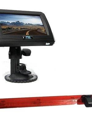 RVS-systemen Mercedes V-klasse (2016 tot heden) Remlichtcamera 4.3 inch Monitor RVM-420