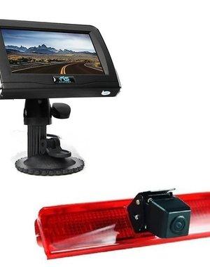 RVS-systemen VW Caddy (2008-2016) Remlichtcamera 4.3 inch Monitor RVM-420
