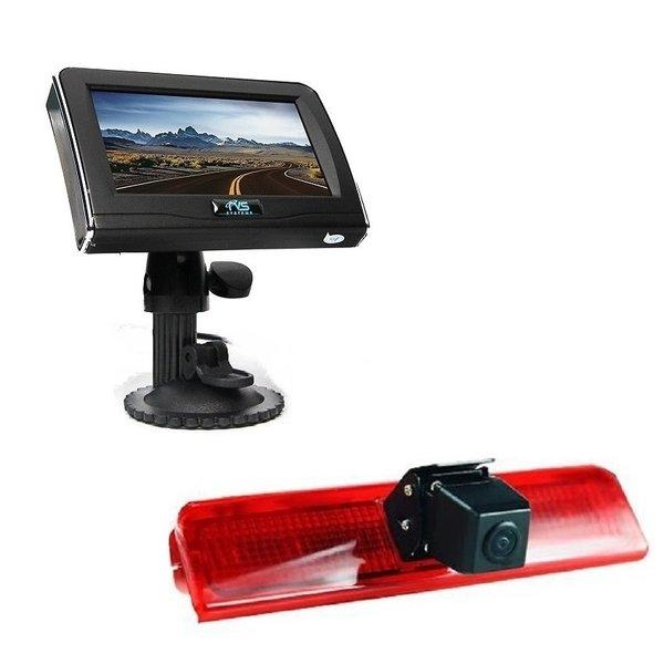 RVS-systemen VW Caddy  (2010-heden) Remlichtcamera 4.3 inch Monitor RVM-420