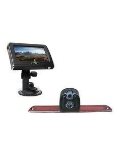 RVS-systemen VW Crafter (2007- heden) Dubbele Remlichtcamera 4.3 inch Monitor RVM-420