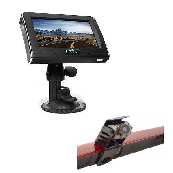 RVS-systemen Mercedes Vito  (2011-2014) Remlichtcamera 4.3 inch Monitor RVM-420