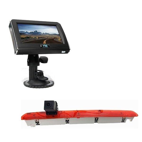 RVS-systemen Mercedes Vito (2016-heden) Remlichtcamera 4.3 inch Monitor RVM-420