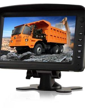 RVS-systemen 7 inch Breedbeeld Digitale Monitor RVM-760