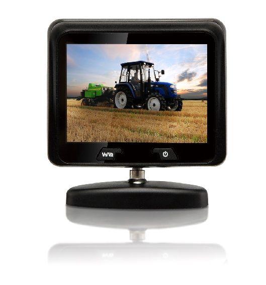 Achteruitrijcamera Monitor 7 inch RVM-350