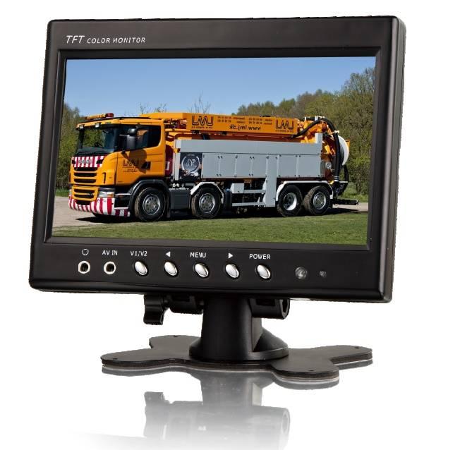 Achteruitrijcamera Monitor 7 inch RVM-720