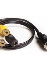 Verloopkabel 4 pins naar RCA tulp RMF-01