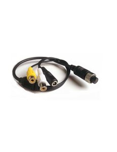 Verloopkabel 4 pins RCA RFF-022