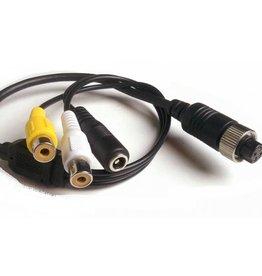 Verloopkabel 4 pins RCA RFF-01