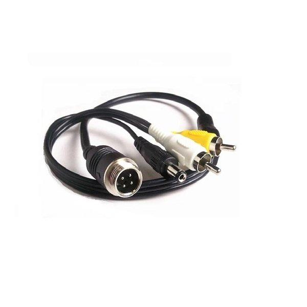 Verloopkabel 4 pins naar RCA tulp RMM-011