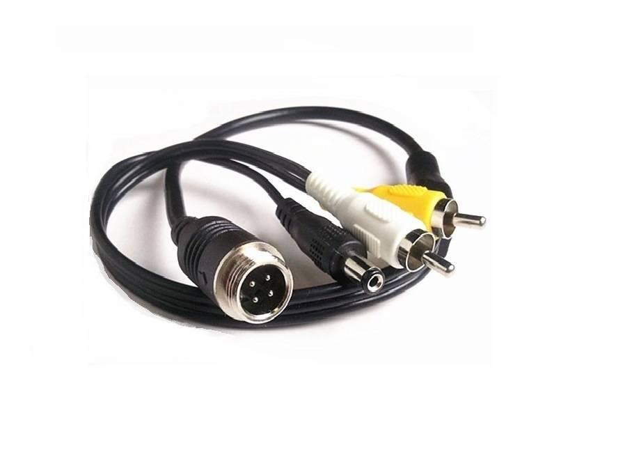 Verloopkabel 4 pins naar RCA tulp RMM-01