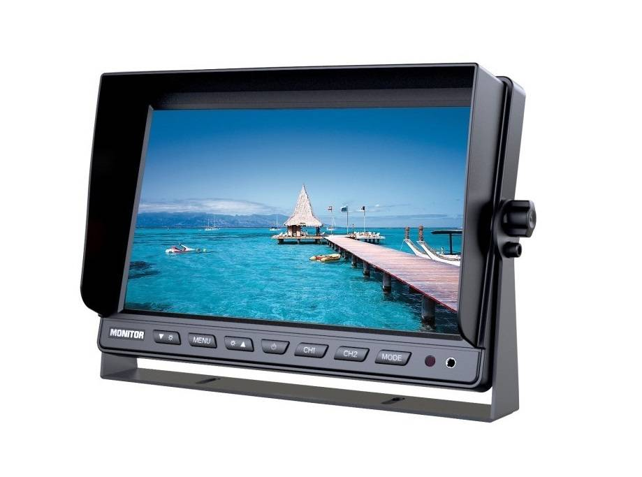 Achteruitrijcamera Monitor 10 inch RVM-110