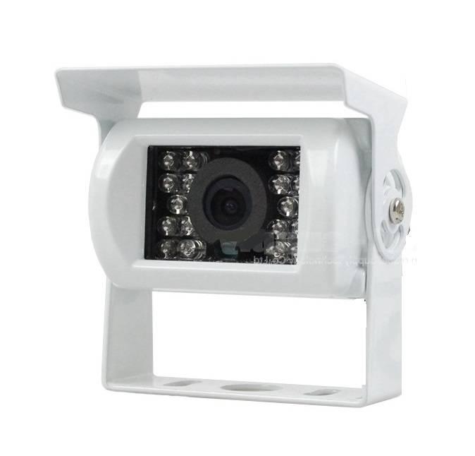 Achteruitrijcamera met geluid wit RVC-750W