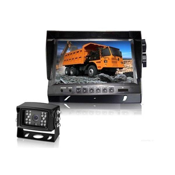 RVS-systemen Achteruitrijcamera set R908-750