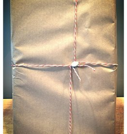 Pilzpaket Geschenkverpackung richtig cool mit Plombe ;-)