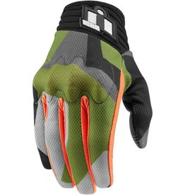 MEN'S ICON 	ANTHEM DEPLOYED™ GREEN MESH TOUCHSCREEN GLOVES