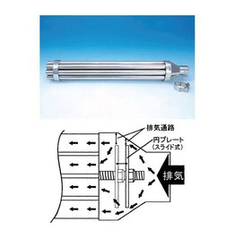 EASYRIDERS LONG MACHINE GUN MUFFLER