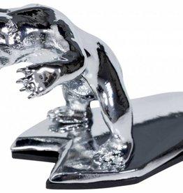 Wild Bear Ornament Chrome