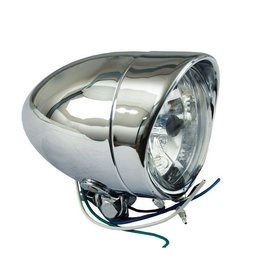 MCS T-BONE KOPLAMP STRETCHED DIAMOND H4 - ROND 10 CM  - MET VISOR - Copy