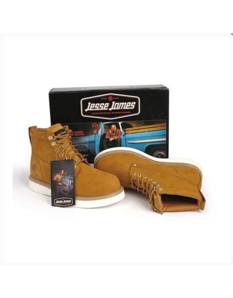 JESSE JAMES BOOTS CRAZE BROWN