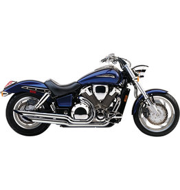 VANCE & HINES SLASH CUT TIPS EXHAUST SYSTEM CHROME