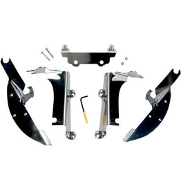 MEMPHIS SHADES Fats/Slim Windshield Trigger-Lock Complete Mount Kit