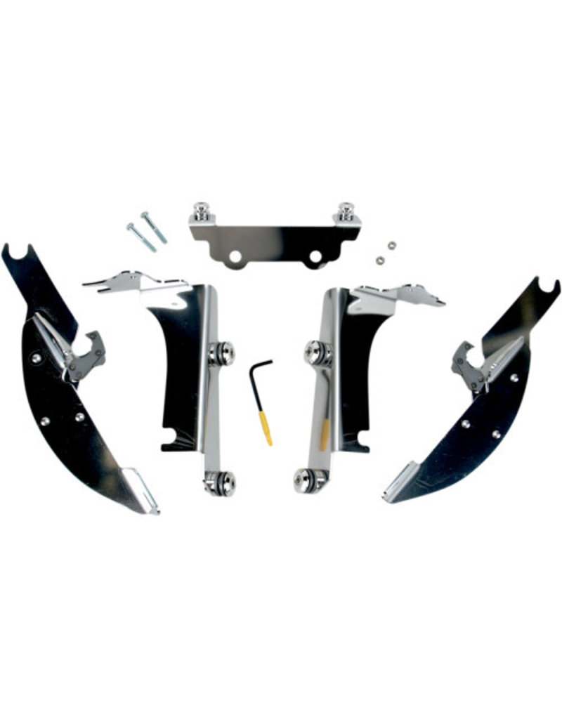 MEMPHIS SHADES Fats/Slim Windshield Trigger-Lock Complete Mount Kit