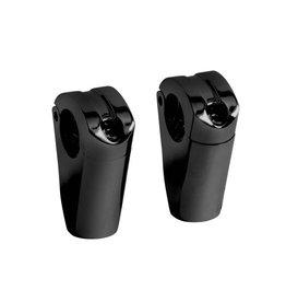 RISERS SPARTICAN ZWART HOOGTE 6.5 CM (32mm)