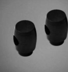 Riser set Chopped Barrel Zwart H = 4,5 cm