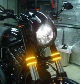 Custom Dynamics TRUFLEX FLEXIBLE LED LIGHT STRIP AMBER
