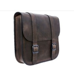 Swingarm Bag Straight Softail Brown