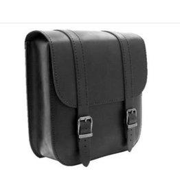 Swingarm Bag Straight Softail Black