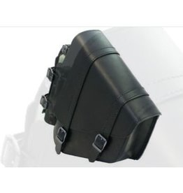 Swingarm Bag H-D Softail narrow with bottleholder Black