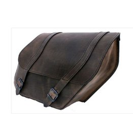 Saddlebag Dyna Right-side Brown