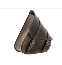 Swingarm Bag H-D Softail Brown
