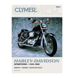CLYMER SERVICE MANUAL XL 86-03 SPORTSTER