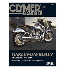 CLYMER SERVICE MANUAL 02-07 VRSC