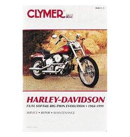 CLYMER SERVICE MANUAL 84-99 SOFTAIL