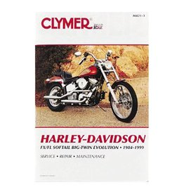 CLYMER SERVICE MANUAL 84-99 SOFTAIL