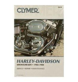 CLYMER SERVICE MANUAL 66-84 SHOVEL