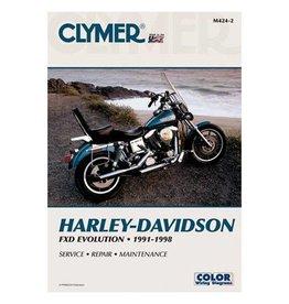 CLYMER SERVICE MANUAL 91-98 DYNA MODELS