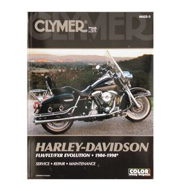 CLYMER SERVICE MANUAL 84-98 FLT, FXR