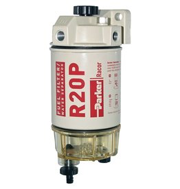 Racor Filter Racor Spin-On Filter mit Wasserseparatoren und Klarsichtbehälter 114L