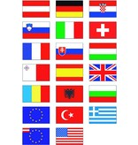 Nationalflagge 30 x 20 cm Österreich