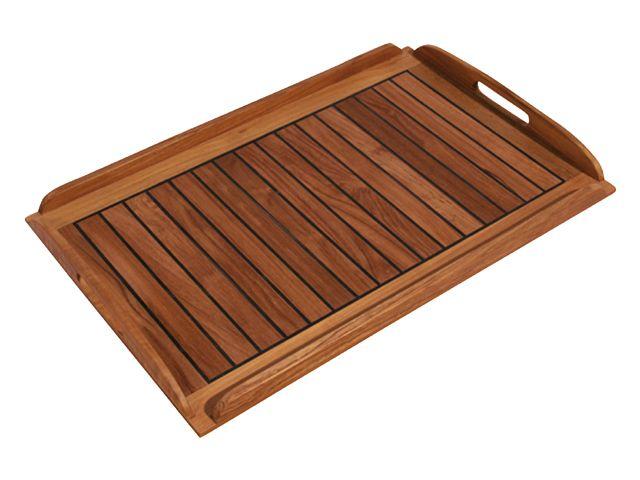 EUDE Teak Tablett 58x38cm Deck-Design (º)