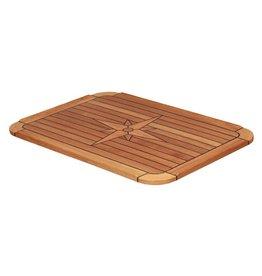 EUDE Teak-Tischplatte Classic 51x75cm